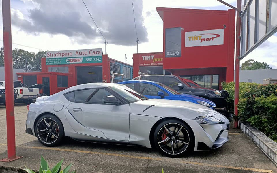Cars tinted with legal tint at Tint Mart Strathpine